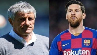 Photo de Barça/vive tension entre Quique Setien et Lionel Messi: Le coach réagit!