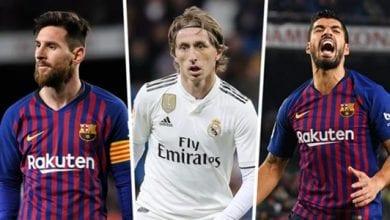 Photo de Liga : découvrez le classement du Barça, le Réal Madrid… sans l'intervention de la VAR