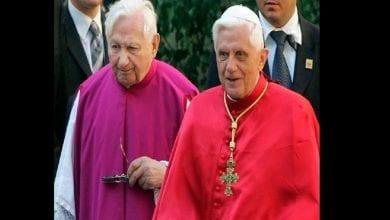 Photo de Georg Ratzinger, frère du pape émérite Benoît XVI est décédé