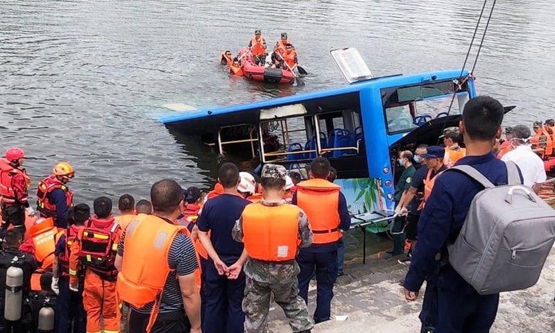 Chine: En colère contre le gouvernement, un chauffeur de bus tue délibérément 21 personnes (PHOTOS)