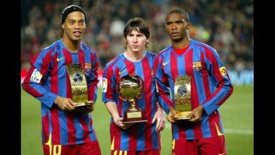 Photo de Barça : découvrez le top 10 des meilleurs attaquants depuis l'année 2000…Neymar 4e, Eto'o 3e