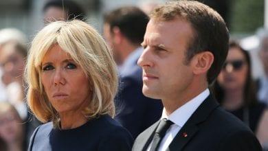 Photo de Brigitte Macron jalouse d'un sms envoyé par son mari à une autre femme?