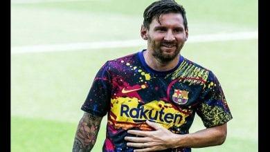 Photo de Barça : Messi dévoile ses nouvelles chaussures, la toile s'enflamme(photo)