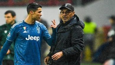 Photo de Maurizio Sarri : sa réaction après le nouveau record de Ronaldo en Serie A