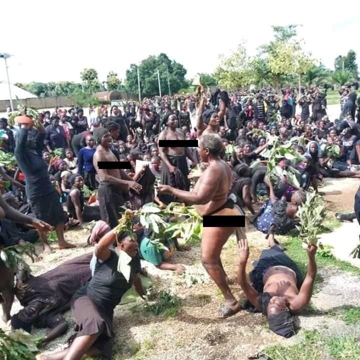 Nigeria : des femmes se mettent nues pour protester contre les tuéries incessantes