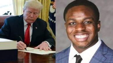 Photo de USA : un adolescent nigérian reçoit une lettre de Trump après un exploit