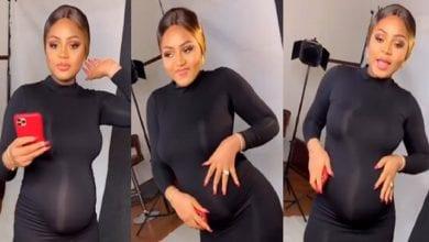 Photo de Regina Daniels révèle comment elle a su qu'elle était enceinte (Vidéo)