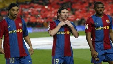 Photo de Le classement des 25 meilleurs joueurs du Barça de tous les temps…Messi 3ème, Eto'o 14ème
