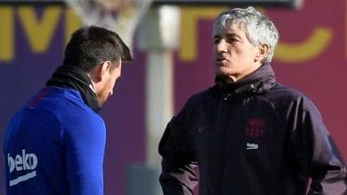 Photo de FC Barcelone: Quique Sétien répond à Lionel Messi après ses dures critiques