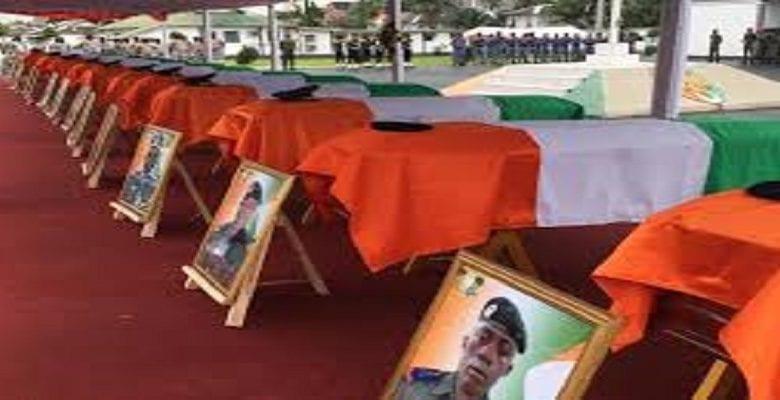 soldats tués décorés