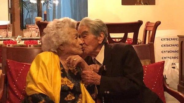 Mariés depuis 79 ans, ils deviennent le plus vieux couple marié du monde