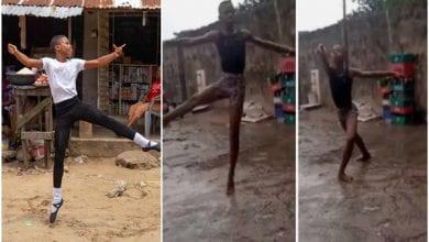 Photo de Nigeria : le jeune garçon filmé dansant sous la pluie obtient une autre très bonne nouvelle-(vidéo)