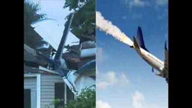 Photo de Etats-Unis : un avion s'écrase sur une maison près d'un aéroport
