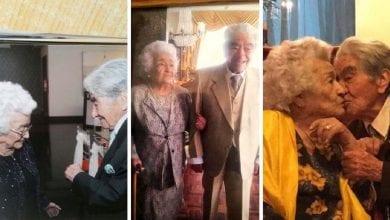 Photo de Mariés depuis 79 ans, ils deviennent le plus vieux couple marié du monde