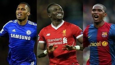 Photo de Découvrez les 10 footballeurs les plus riches d'Afrique, les places d'Eto'o Drogba, Salah et Sadio Mané révélées
