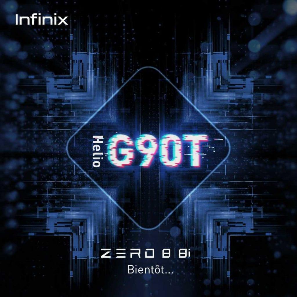Technologie : Infinix sur le pas de lancer sa toute dernière série «Zéro8» ?