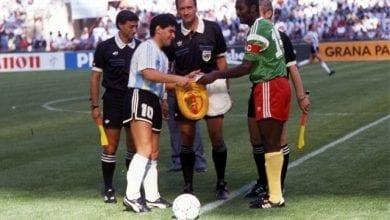 Photo de Mort de Tataw Stephen: le message de Diego Maradona