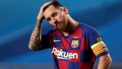 Photo de LDC/élimination du Barça « Messi ? Je lui ai demandé son maillot, mais je pense qu'il était un peu énervé »