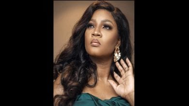 Photo de Omotola Jalade : « j'ai infecté mes enfants de la COVID-19 »