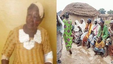 Photo de Ghana : une vieille femme accusée d'être une sorcière battue sévèrement par des villageois