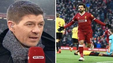 Photo de Steven Gerrard: sa déclaration sur Salah qui ne devrait pas plaire à Drogba