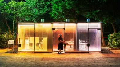 Photo de Japon : de nouvelles toilettes publiques transparentes installées à Tokyo : Photos