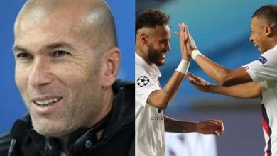 Photo de LDC/PSG : Zidane séduit par le duo Neymar-Mbappé !