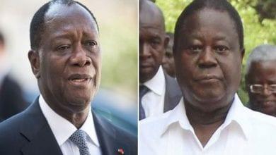 Photo de Côte d'Ivoire : les tensions montent entre le président Ouattara et son ex allié Bédié