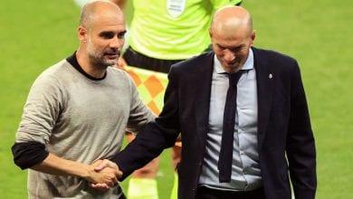 Photo de LDC- Pep Guardiola : « ce que j'ai dit à Zidane après le match »