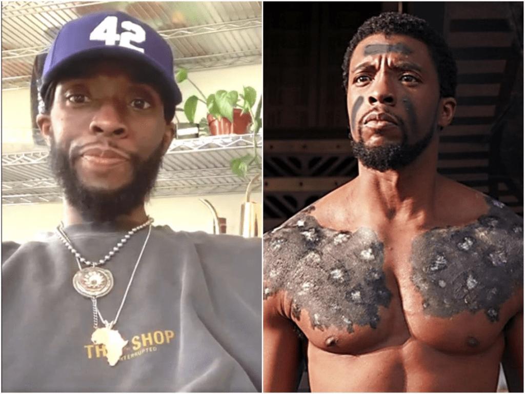 Chadwick Boseman de « Black Panther» : découvrez son incroyable transformation physique avant sa mort - (Photos)