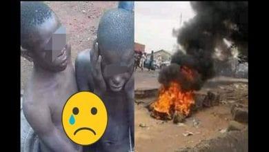 Photo de Kenya : deux adolescents brûlés vifs pour avoir volé un téléphone portable