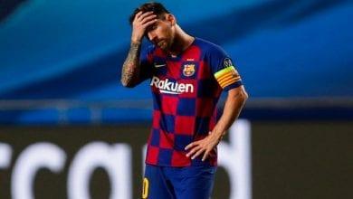 Photo de LDC: Après l'humiliation face au Bayern, Messi menace de quitter le Barça