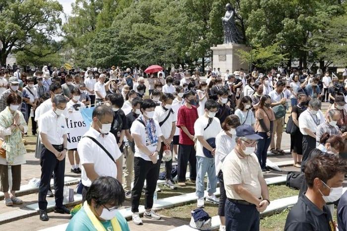 Japon: Nagasaki commémore les 75 ans du bombardement atomique