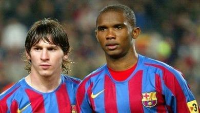 Photo de Rumeur de départ de Messi : Samuel Eto'o envoie un message au Barça