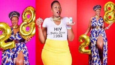Photo de Une jeune femme célèbre 28 ans de vie avec le VIH: Photos