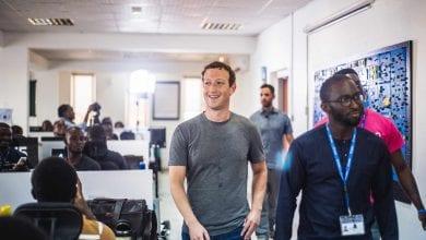 Photo de Facebook annonce l'ouverture d'un bureau à Lagos, au Nigéria