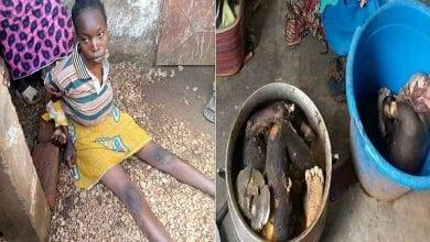 Photo de Cameroun : une femme de 25 ans tue et prépare ses deux enfants