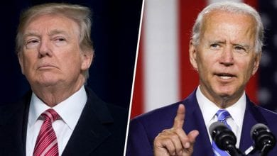 Photo de Etats-Unis : Joe Biden attaque le président Donald Trump qui repond