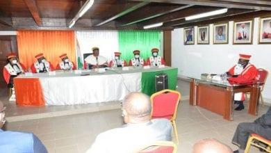 Photo de Côte d'Ivoire / Election présidentielle: très attendu à la CEI pour prêter serment, le représentant du PDCI-RDA brille par son absence