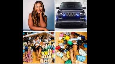 Photo de Nigeria : une blogueuse s'offre une Range Rover, 80 paires de chaussures et 35 sacs pour son anniversaire (photos)