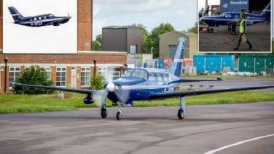 Photo de Le premier avion au monde propulsé à l'hydrogène a pris son envol