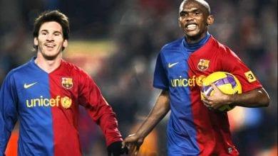"""Photo de Samuel Eto'o: """"Je suis heureux parce que mon fils Messi est resté chez lui"""""""