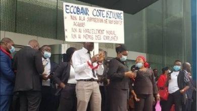 Photo de Côte d'Ivoire / Grève des travailleurs d'Ecobank : voici la réaction de la direction générale