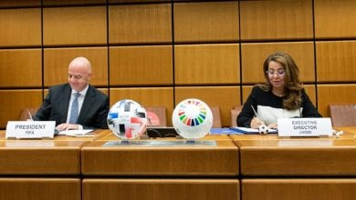 Photo de La FIFA s'associe à l'ONU pour éradiquer la corruption par le football