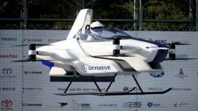 Photo de Le Japon teste avec succès un modèle de voiture volante (vidéo)
