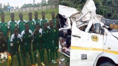 Photo de Ghana : des jeunes footballeurs meurent dans un terrible accident de voiture
