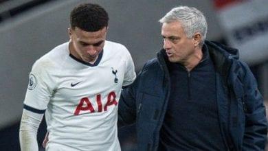 Photo de Tottenham : José Mourinho a tranché définitivement pour Dele Alli