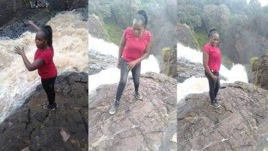 Photo de Kenya: elle tombe dans l'eau et meurt en posant pour des photos