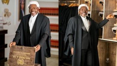 Photo de L'acteur de Nollywood Kanayo O. Kanayo devient officiellement avocat