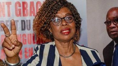 """Photo de Côte d'Ivoire/ Marie-Odette Lorougnon(FPI):"""" Nous ne pouvons accepter que notre République devienne un domaine réservé uniquement à un groupuscule"""""""